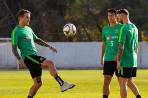 منتخب أستراليا يتدرب في الأردن