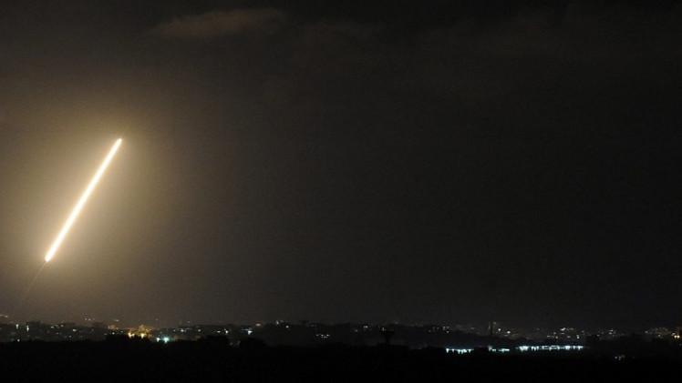 سقوط صاروخ أُطلق من لبنان على شمال إسرائيل