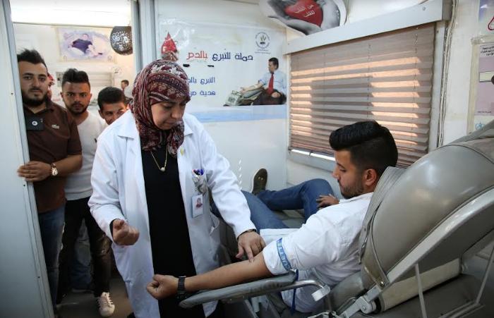 """""""الزيتونة"""" تنظم حملة للتبرع بالدم بالتعاون مع """"بنك الدم"""""""