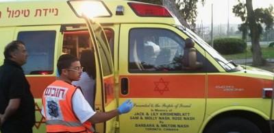 """بالصور  ..  الاحتلال يطلق النار على عامل فلسطيني في """"تل أبيب"""""""