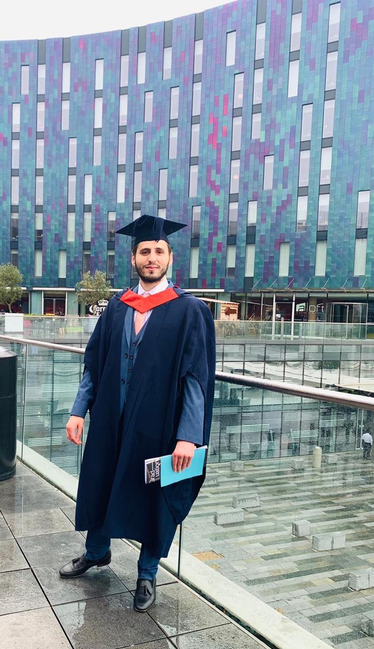 حمزة الجعبري مبارك التخرج