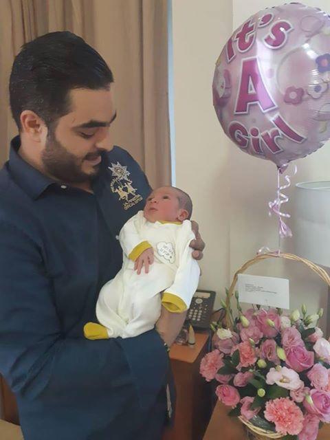 الاستاذ عبداللطيف الفاعوري  .. مبارك المولودة الجديدة