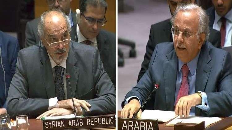 بالفيديو ..  قضية خاشقجي تسبب مشادة بين السفيرين السوري والسعودي في الأمم المتحدة
