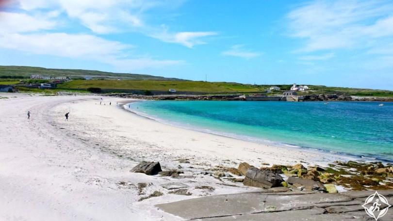 بالصور  ..  جزر آران وجهة البهجة والباحثين عن السعادة والاسترخاء في أيرلندا