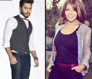 """بالصور .. وصلة غزل بين سميرة سعيد وتامر حسني على """"تويتر"""""""