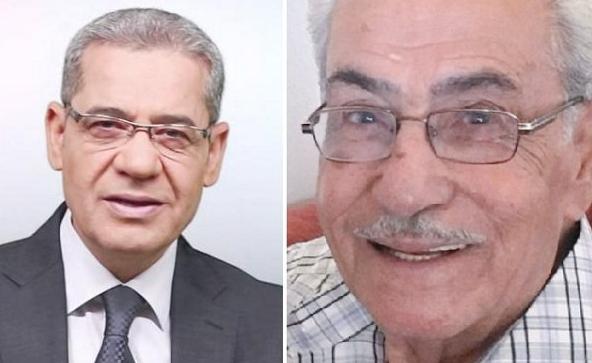 مصطفى الآغا يفجع بوفاة والده