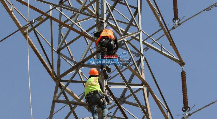 """مجددا ..  انقطاع التيار الكهربائي عن الأردن أمام """"الطاقة النيابية"""""""