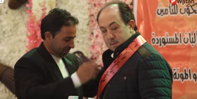 خبر عالهوا واحلى مقلب بالفنان محمد خير جراح  ..  فكرة واعداد رضوان قنطار