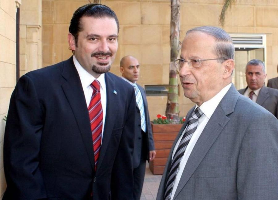 ميشال عون يكلف رئيس تيار المستقبل سعد الحريري بتشكيل الحكومة الجديدة