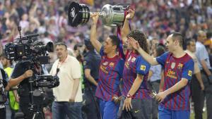 برشلونة يحتفظ بالكأس للأبد