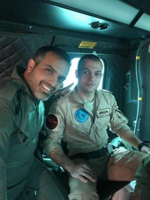 الطيار الاردني عدنان نباص الذي تحطمت طائرته في السعوديه يصل الى الاردن