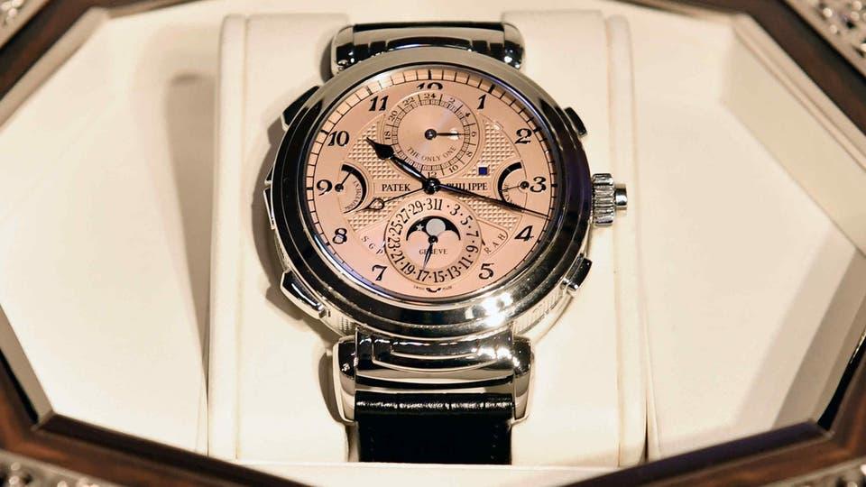 لن تصدق  ..  31 مليون دولار لأغلى ساعة يد في العالم وبيعت ب5 دقائق فقط !
