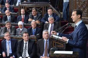 الأسد : سنواصل سفك الدماء في حربنا على الارهاب