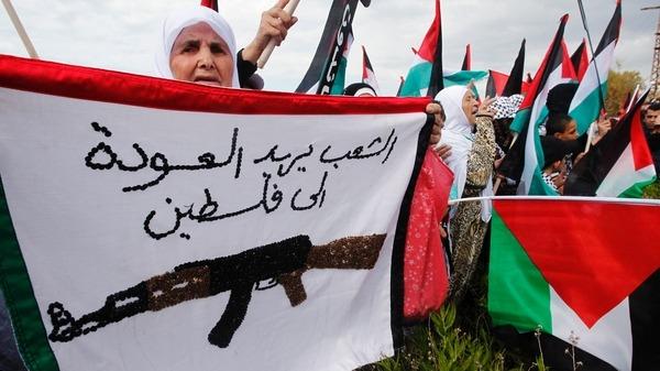 النكبة توحد الفلسطينيين وعشرات الاصابات في الذكرى 65
