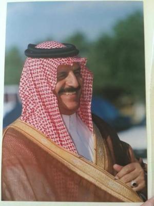 مبارك الثقه الملكيه لمعالي ظاهر باشا الفواز