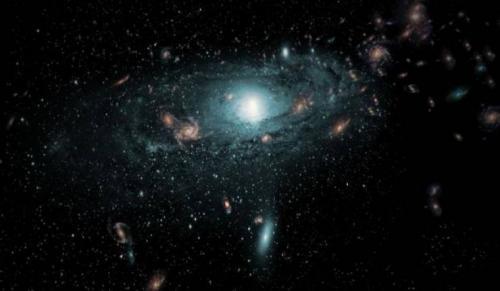 اكتشاف 'القوس العملاق' في الفضاء