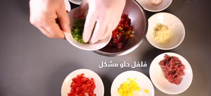فيديو فطائر محشية باللحم