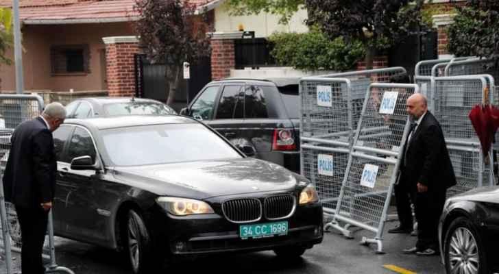 الشرطة التركية تصل الى القنصلية السعودية في اسطنبول لتفتيشها