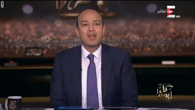 """مدير عام قناة الجزيرة """"الاردني ابو هلالة"""" يرد على شتائم عمرو أديب له  ..  فيديو"""