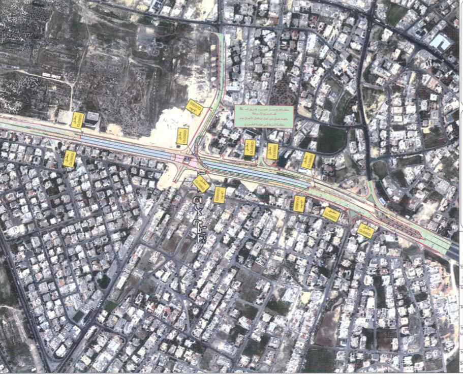 تحويلات مرورية على تقاطع مرج الحمام  ..  تفاصيل