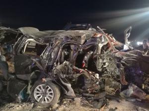بالفيديو: شاهد حادث وفاة النائب محمد العمامرة الحويطات