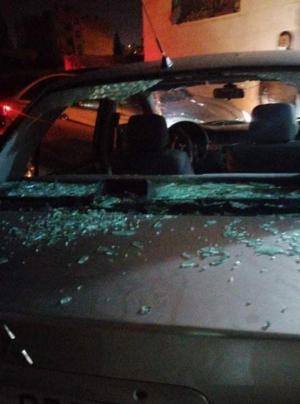 بالصور .. القبض على فتيات قاما بكسر زجاج العشرات من السيارات في الحي الشرقي باربد