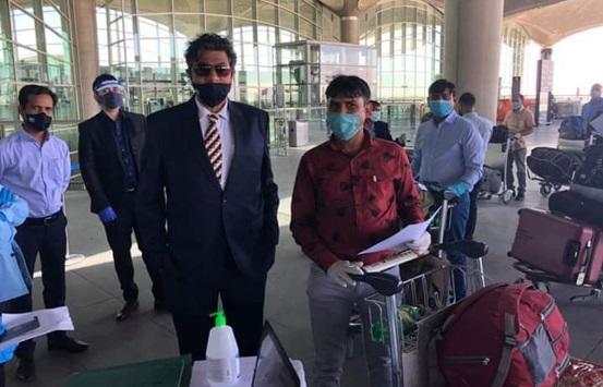 مغادرة 211 هنديا من الأردن إلى بلادهم