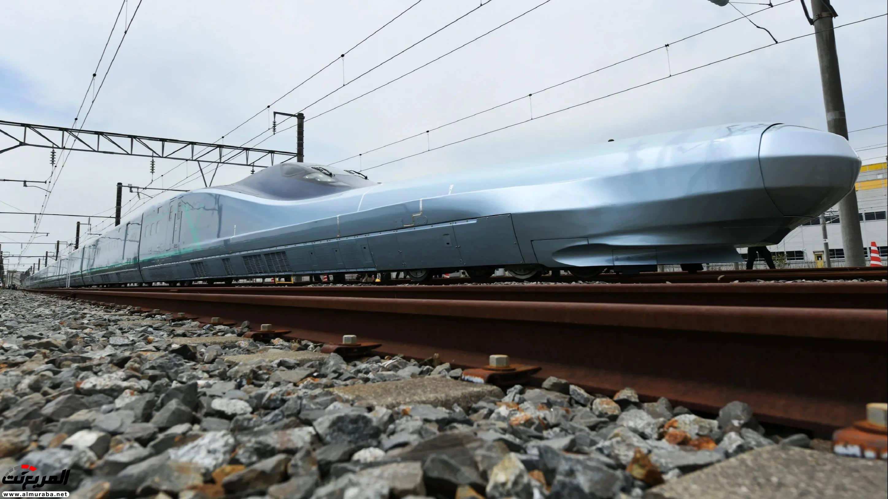 بالصور ..  نظرة على أسرع قطار طلقة في العالم!