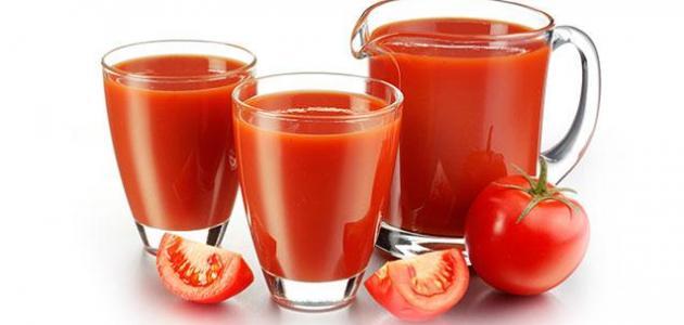 12 فائدة لعصير الطماطم