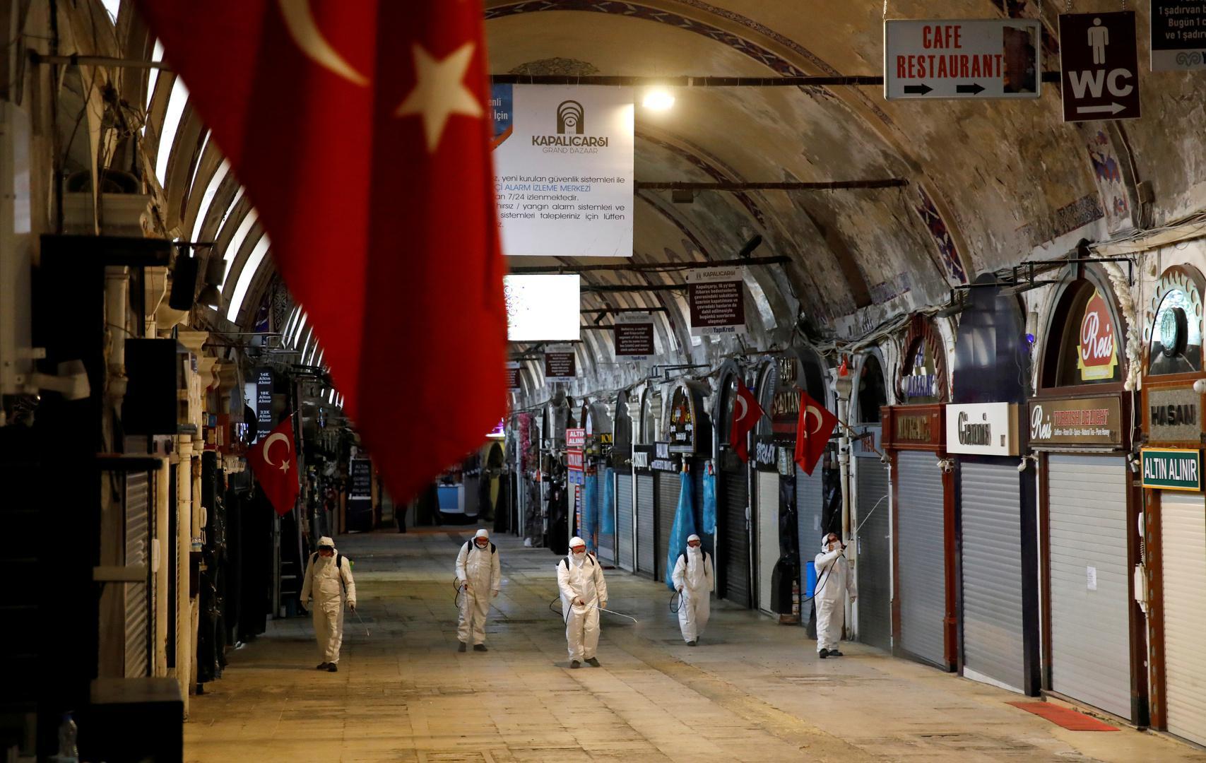 تمديد حظر التنقل بين المدن التركية الكبرى لمدة 15 يوما آخر