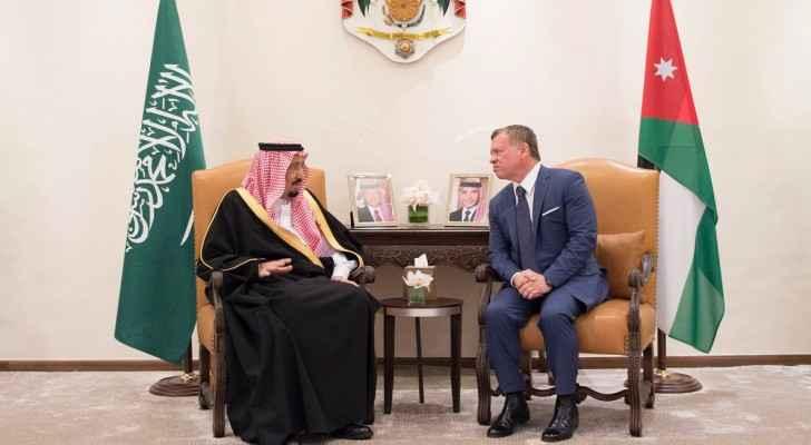 الملك وخادم الحرمين الشريفين يشهدان توقيع اتفاقيات ومذكرات تفاهم بين الأردن والسعودية