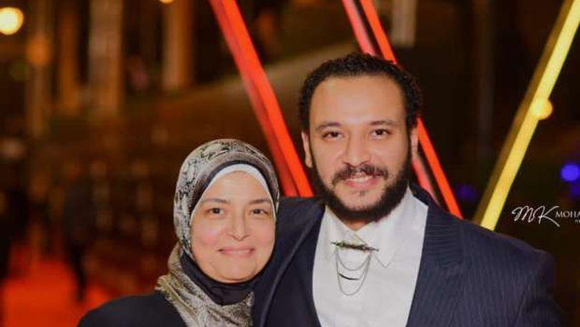 وفاة زوجة الفنان خالد صالح بكورونا