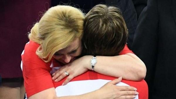 الرئيسة الكرواتية تواسي منتخبها برسالة مؤثرة