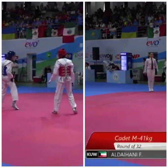 كويتي ينسحب من بطولة العالم للتايكواندو رفضاً لمواجهة لاعب إسرائيلي