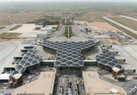 """نشاط بمطار الملكة علياء بسبب تهديد القسام """"بن غوريون"""""""
