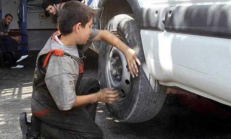 دعوة إلى تغليط العقوبات على مشغلي الأطفال