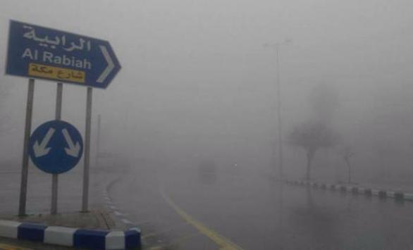"""الأرصاد تكشف عن حالة الطقس في المملكة حتى الأحد و تُحذر من """"الضباب""""  ..  تفاصيل و انفوجرافيك"""