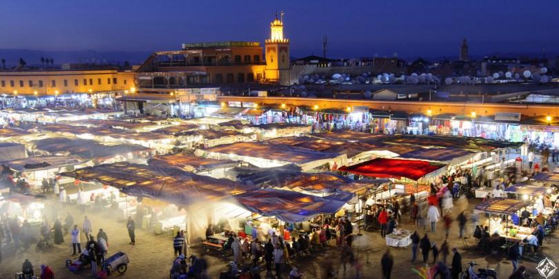بالصور .. شهر العسل في مراكش