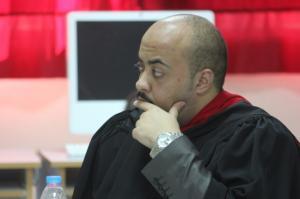 """تهنئة للزميل الإعلامي الاستاذ """" خالد سالم الحطاب """" لحصوله على درجة الماجستير في الإعلام"""