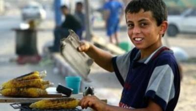 100 ألف طفل يعملون في فلسطين