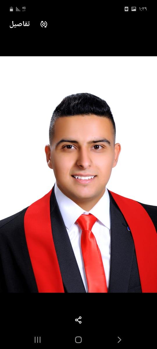 وسيم الشرفاء  ..  مبارك التخرج
