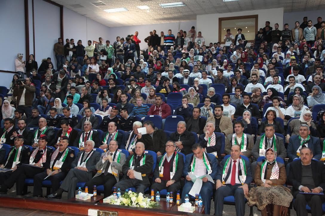 """""""جامعة البترا"""" تنظم حملة لدعم ترشح سمو الامير علي للفيفا"""