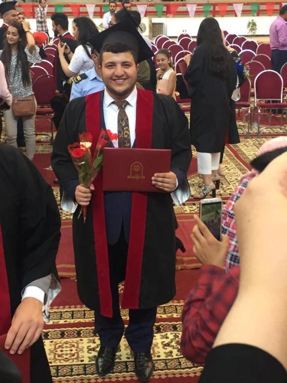 لدكتور عبدالله حسن الدباس مبارك التخرج