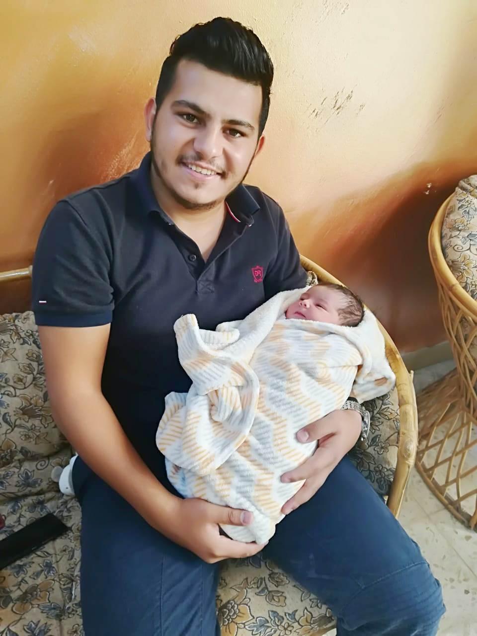 """مبارك المولودة الجديدة """"كادي علاء عنانزة"""""""