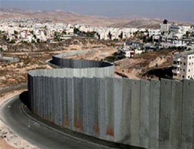 إسرائيل اقترحت أن يكون الجدار الفاصل أساسا لمحادثات السلام