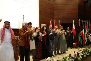 """تكريم الطلبة العرب والأجانب  في """" الشرق الأوسط """""""