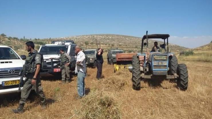 استرداد 50 دونما استولى عليها مستوطنون شرق بيت لحم