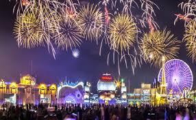 بالفيديو: اليابان تبهر العالم بلوحة فنية من الألعاب النارية في رأس السنة