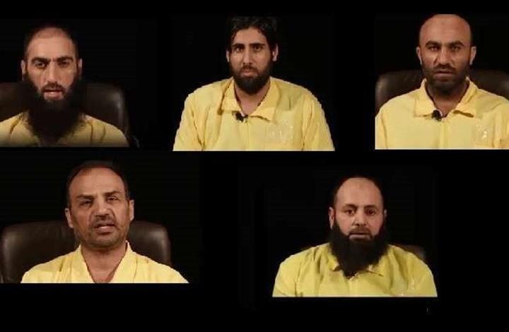 العراق ينشر اعترافات خطيرة للارهابي صدام الجمل احد المتهمين بحرق الشهيد الكساسبة