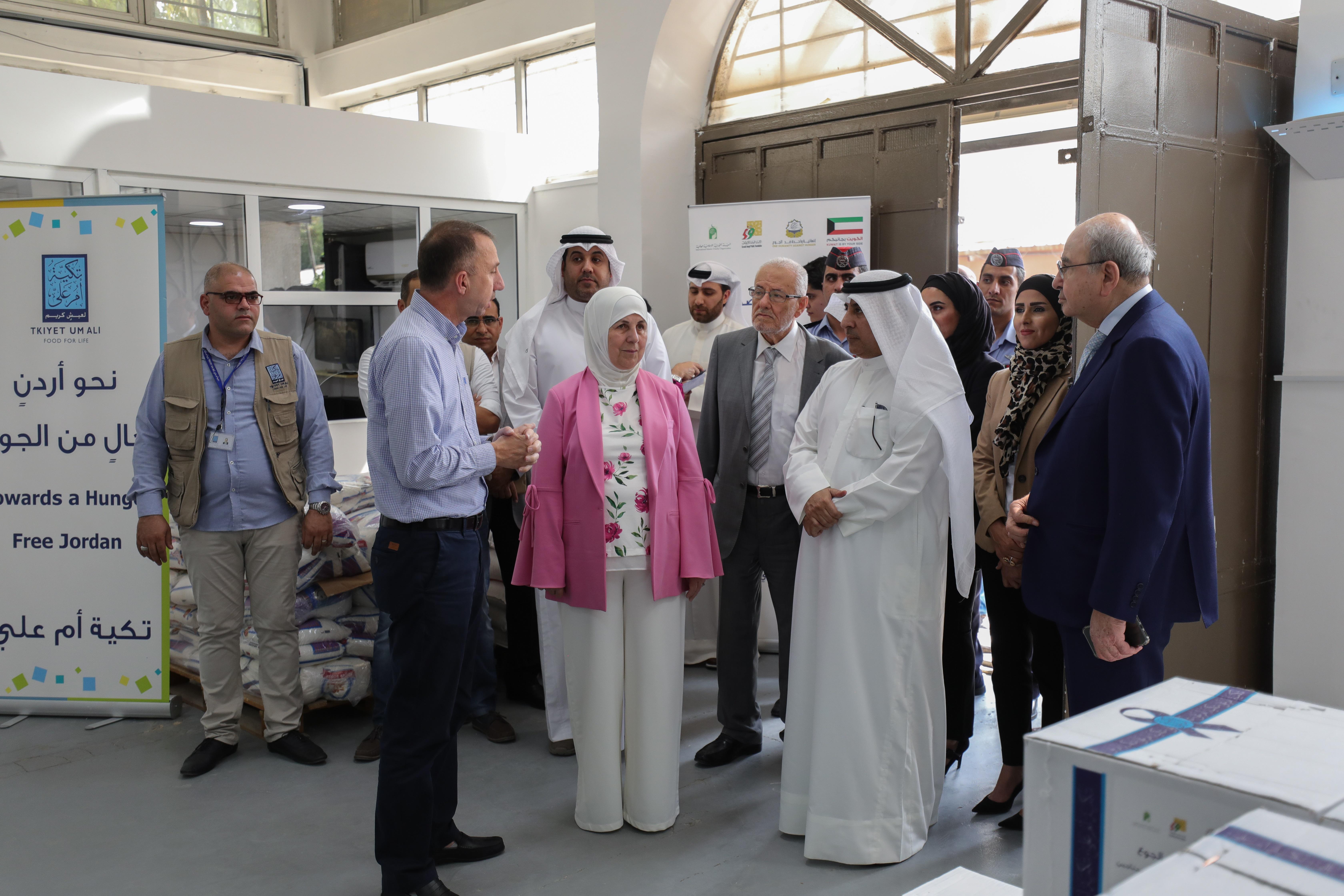 الهيئة الخيرية الإسلامية العالمية- الكويت-  تمد جسور التعاون مع تكية أم علي ..  صورة